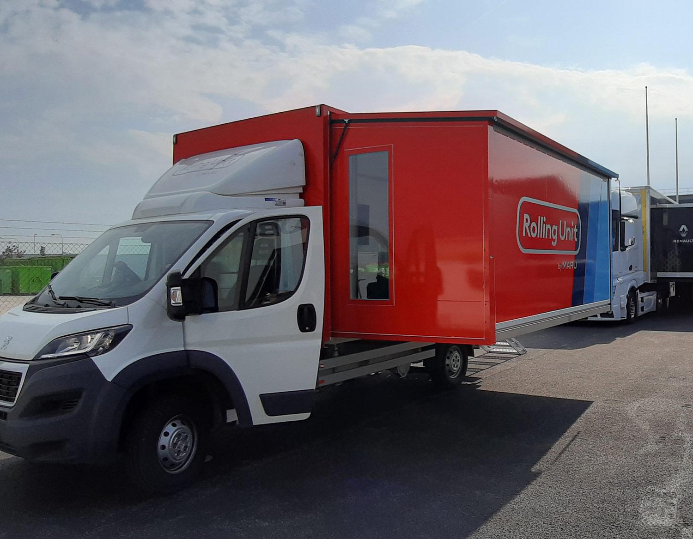 Demovan for marketing