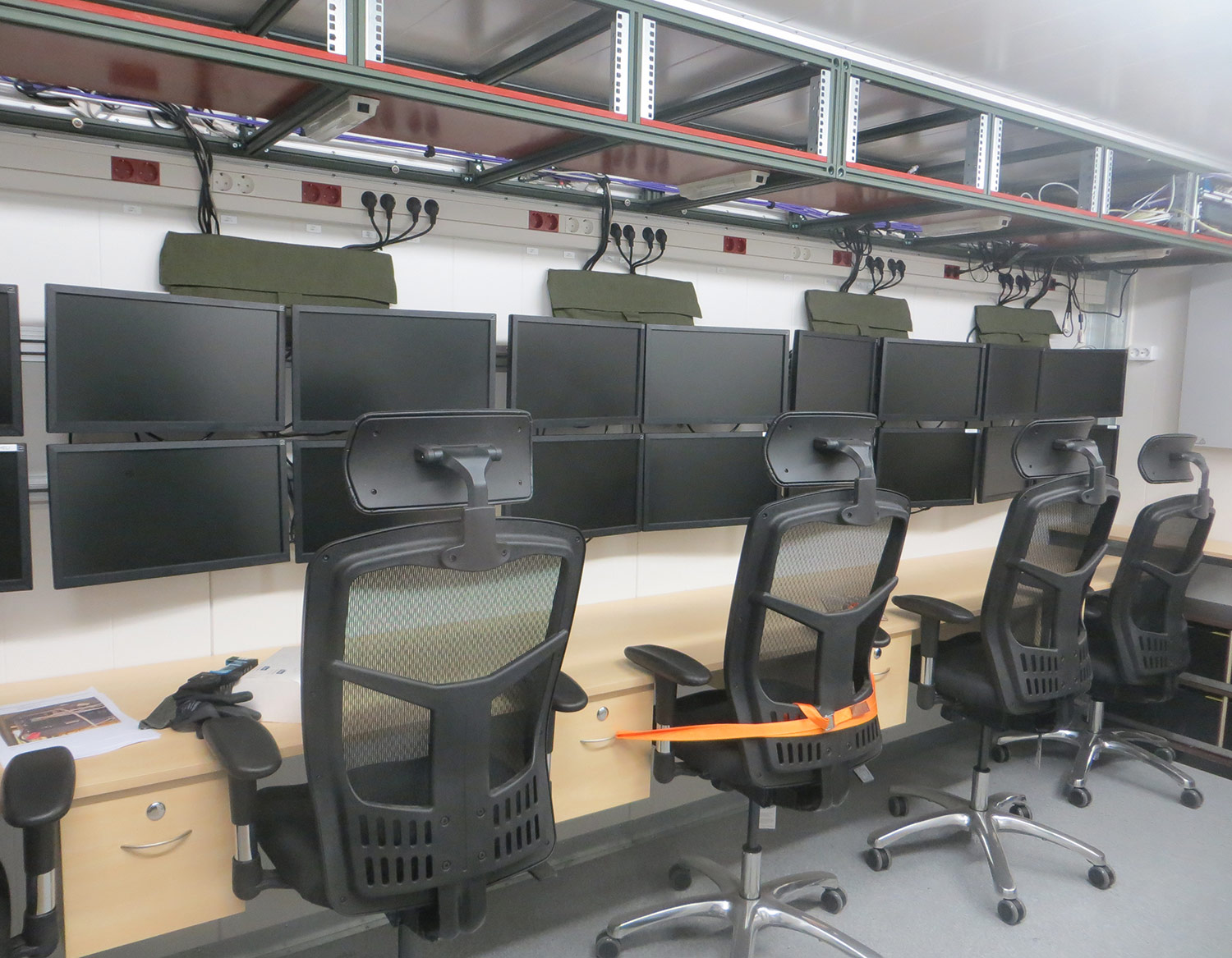 Command center for military or rescue