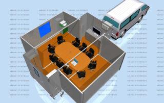 Classroom on trailer